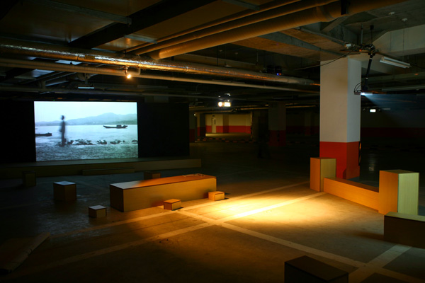 <em>Seduction</em> exhibition view in Soho Shanghdu underground parking lot